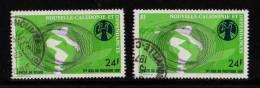 Nelle CALEDONIE 1975- N° PA 167 Et 168 Oblitérés 5° Jeux Du Acifique Sud Lancer Du Disque . 24-50fr - Sin Clasificación