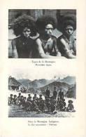 Papouasie-Nouvelle-Guiné E - Types De La Montagne, Dans La Montagne, Indigènes - Papouasie-Nouvelle-Guinée