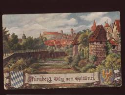 NURNBERG   Serie IV OILETTE RAPHAEL TUCK & SONS - Nürnberg