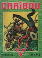CARIBOU N° 24 BE IMPERIA 06-1962 - Petit Format