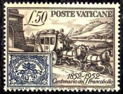 PIA - VAT - 1952 : 100° Dei Primi Francobolli Dello Stato Pontificio  - (SAS 155) - Nuovi