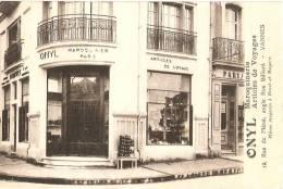 VENTE DIRECTE - Prix En Baisse: VANNES - MAGASIN ONYL - MAROQUINIER - 12 Rue De Méné - TOP Collection - Très Rare - Vannes