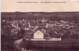 Département 60: CIRES-les-MELLO - Vue Générale - Route De Tillé - Other Municipalities