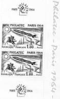 1964 N° 1422 Philatec NEUF** Bloc De 2 - Nuevos