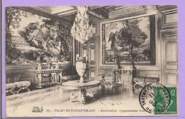 Dépt 77 -  PALAIS DE FONTAINEBLEAU - Antichambre - Appartements Louis XIII - Oblitérée En 1911 - Fontainebleau
