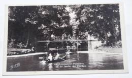 CLERMONT FERRAND - CPSM 63 - LAC DU JARDIN DES PLANTES. Carte Animée, Barques ..... - Clermont Ferrand