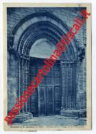 Perugia - MONTELEONE DI SPOLETO - PORTALE CHIESA S. FRANCESCO - OPACA - FG - VG 1951 - Italie