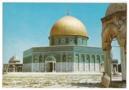 ASIA ISRAEL JERUSALEM  OLD CITY MOSQUE OF OMAR Nr. 8131 OLD POSTCARD - Israel