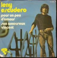 """45 Tours SP - LENY ESCUDERO  - RIVIERA 121409 -  """" POUR UN PEU D'AMOUR """" + 1 - Andere - Franstalig"""