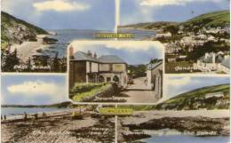 COLOURED MULTI-VIEW  - DOWNDERRY - SOUTH CORNWALL - England