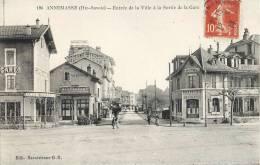 ANNEMASSE ENTREE DE LA VILLE A LA SORTIE DE LA GARE 74 - Annemasse