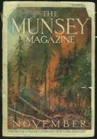"""The Munsey Magazine"" For November 1907.  Hundreds Of Advertisements. - Enfants"