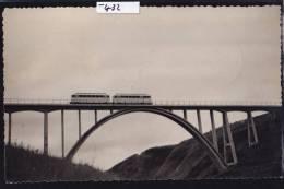 Antsirabé : Le Pont Des Chemins De Fer Sur La Ligne Vers Sahatsiho - Avec Un Train Vers 1957 (-432) - Madagascar