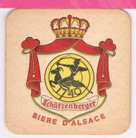 Sous Bock : Schutzenberger Biere D'alsace  , Sous Bocks Bier - Bierdeckel
