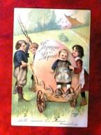 Joyeuses Pâques Carte Gaufrée - Pâques