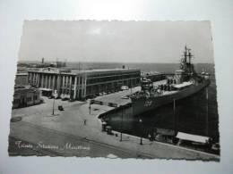 Nave Ship Guerra Trieste Stazione Marittima - Guerra
