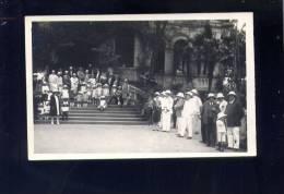 CP (Asie) Viet-Nam - Langson - Nombreuses Personnes Le 11 Novembre 1928  -  Carte Photo - Viêt-Nam