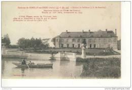 CHATEAU DE SELLIERES ENVIRONS DE ROMILLY SUR SEINE CPA BON ETAT - Romilly-sur-Seine