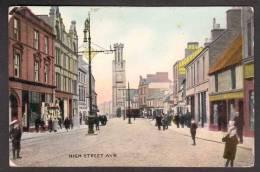 SC8) Ayr - High Street - Ayrshire