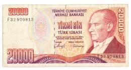 20000 Liras - 1970 - Turquie
