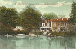 PONTOISE - Restaurant Du Barrage Et La Société Nautique De L'Oise - Pontoise