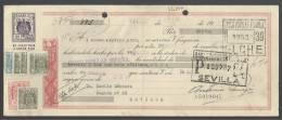 CLASE 13.ª - BANCO POPULAR ESPAÑOL - ELCHE - SEVILLA - 1959 - A5019045 - Bills Of Exchange