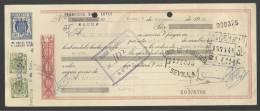 CLASE 12.ª - BANCO POPULAR ESPAÑOL - ELCHE - BANCO DE ANDALUCIA - SEVILLA - 1960 - E0378798 - Bills Of Exchange