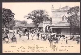 SR39) Ceylon - Colombo - Pettah And Town Hall - Undivided Back - Sri Lanka (Ceylon)