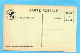 BANANIA-Le Stand -animé Beau Plan -exposition Coloniale-MARSEILLE 1922 - Publicité