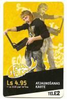 Latvia - 2008 Computer - Prepaid Card Used - Latvia