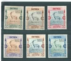 Erythrée: 212/ 217 * - Erythrée