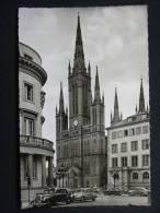Ak Wiesbaden, Marktkirche, Auto, Daimler Benz, Mercedes - Wiesbaden