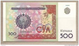 Uzbekistan - Banconota Non Circolata Da 500 Som - 1999 - Uzbekistan