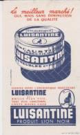 Buvard Luisantine Lion Noir - Vloeipapier