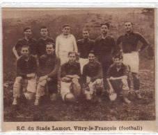 Photo Sur Carton S.c Du Stade Lamort Vitry Le François Footbali Année 1931- 9sur 7cm - Sports