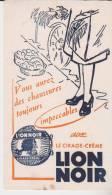 Buvard Cirage Lion Noir - Vloeipapier