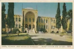 DC118-ISRAEL-AK HAIFA Technologie Hochschule-Gel 1963 - Israel