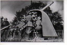 Images De Propagande Allemande SAMMELWERK  N°15 Artillerie De Marine En Action  (scan Recto-verso) - Sonstige