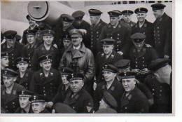 Images De Propagande Allemande SAMMELWERK  N°15 HITLER Dans Un Groupe De Marins  (scan Recto-verso) - Old Paper