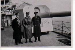 Images De Propagande Allemande SAMMELWERK  N°15 HITLER à Bord D'un Bateau  (scan Recto-verso) - Sonstige