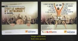CD DVD C´est Le Moment D´y Retourner ! 11ème Festival De Musique Des Lycéens Et Apprentis EPINAL Avril 2010 - Sonstige