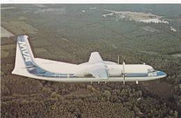 Mississippi Valley Airlines, Inc. Fokker F-27 Friendship Airplane, 1981 Commercial Issue - 1946-....: Moderne