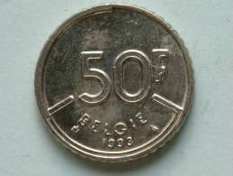 1993 VL - 50 Franc / Morin 833 ( Uncleaned - For Grade, Please See Photo ) ! - 08. 50 Francs
