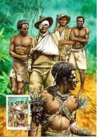 AUSTRALIA MAXICARD ANZAC ARMY KOKODA TRAIL NEW GUINEA NATIVES 0.55 STAMP DATED 12004-2010 CTO SG? READ DESCRIPTION!! - 2010-... Elizabeth II