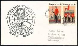 ARCTIC, CANADA , 4.6.1977, Eureka N.W.T., Great Cachet: GARDEN SPOT OF THE ARCTIC !! - Unclassified
