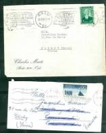 Lot De 2 Lettres  AffranchiES Pour La FRANCE  - Am45 - Norway