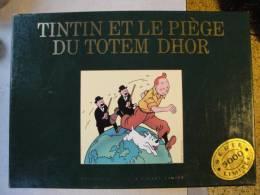 Tintin Et Le Piège Du Totem D'or, Luxe Série  Limitée, Nté 03492 Bon état - Tintin