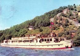 AK  Touristen-Kabinenschiff MS SPREE, Gel. 1967 - Handel