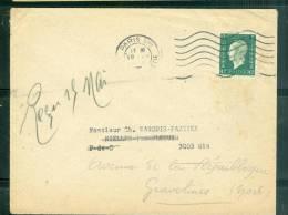 Lettre Affranchie Par 80 Centimes Marianne De Dulac  ( 1 Er Echelon Imprimé ) En Mai 1945 Am3918 - 1944-45 Marianne De Dulac