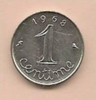 1 Centime épi FRANCE 1968  TB - A. 1 Centime